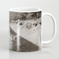 not all who wander are lost Mugs featuring Not all who wander are lost. Mountains by Guido Montañés