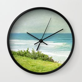 To the West - California Coast Wall Clock