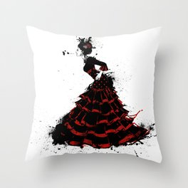 flamenco Throw Pillow