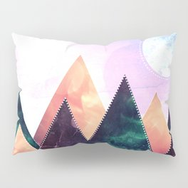 Sunrise of the moon Pillow Sham