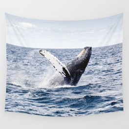 Humpback Whale Ocean Wall Tapestry