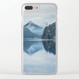 Alpsee lake,Bavarian alps Clear iPhone Case