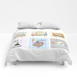 Designers United - All Six Designs Comforters