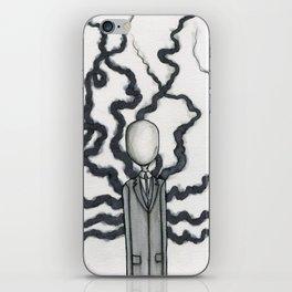 Slender Man iPhone Skin