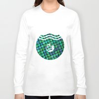 scales Long Sleeve T-shirts featuring Scales by MeltingMiltons