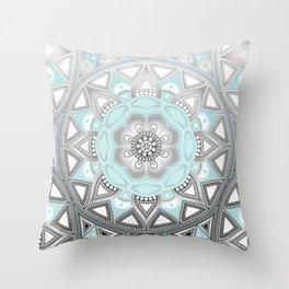 Mandala my new creation VII Throw Pillow