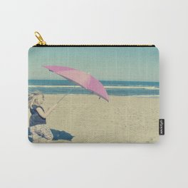 Beach Whirl Carry-All Pouch
