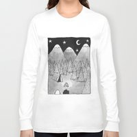camping Long Sleeve T-shirts featuring Camping. by Caleb Boyles