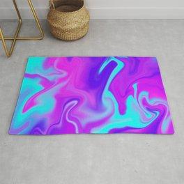 Neon Tye Dye Rug