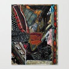 Disintegration 2 Canvas Print