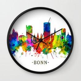 Bonn Germany Skyline Wall Clock