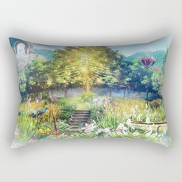 The Heart of The Forest Rectangular Pillow