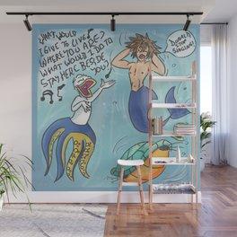 Tone Deaf Wall Mural
