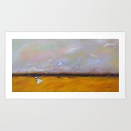 Something in the Wind Art Print