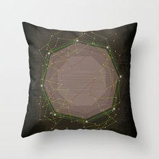 CYBERDOT Throw Pillow