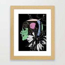 visual thoughts Framed Art Print