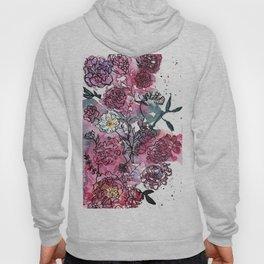 Flower Illustration Hoody