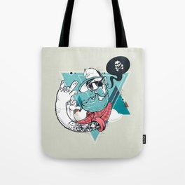 Hipster Rules Tote Bag
