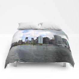 Manhattan View 2012 Comforters