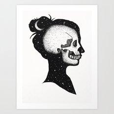 Cloud Walker Art Print