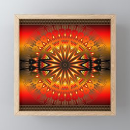 Fire Spirit Framed Mini Art Print