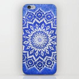 okshirahm, blue crystal iPhone Skin