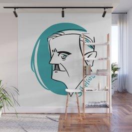 Jean Sibelius #4 Wall Mural