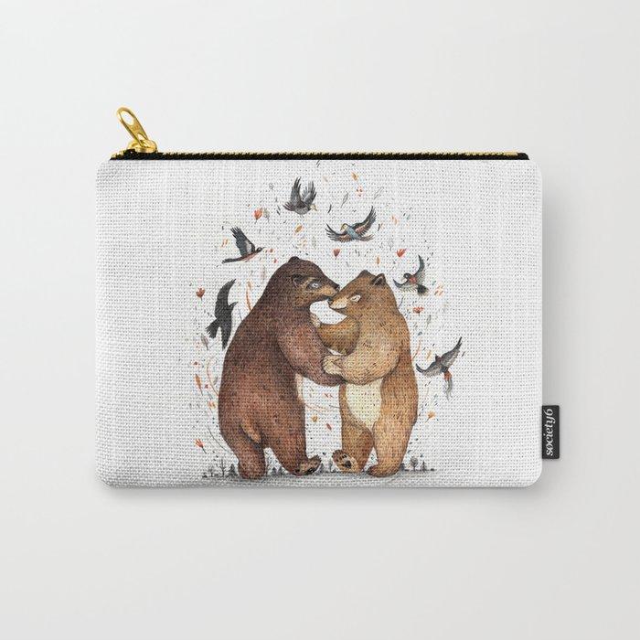 Bear Dance Carry-All Pouch