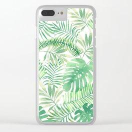 Wild Tropic Clear iPhone Case