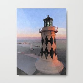Harry T's Lighthouse Metal Print