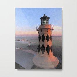 Harry T's Lighthouse Metal Print