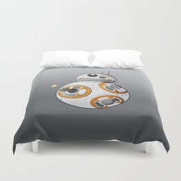 War in the Stars -- BB-8 Duvet Cover