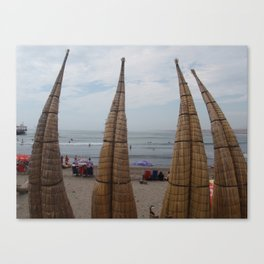 Huanchaco, Peru Canvas Print