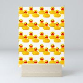 Rubber Duck Pattern Mini Art Print