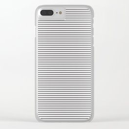 line blend Clear iPhone Case