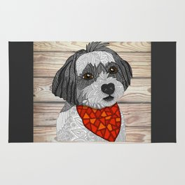Max the Havanese Rug