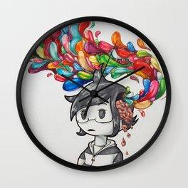 Brain Matter Wall Clock