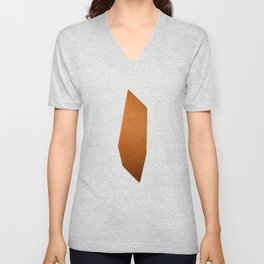 Abstract Re-Created Painting in Space Unisex V-Neck