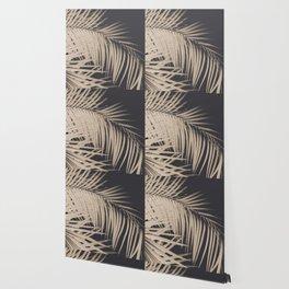 Palm Leaves Sepia Vibes #3 #tropical #decor #art #society6 Wallpaper