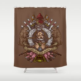 Murray crest Shower Curtain