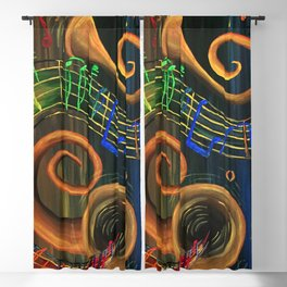 The ART of Music Blackout Curtain