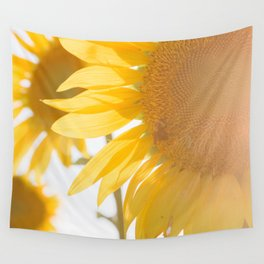 Sunflowers and Sunshine Wall Tapestry