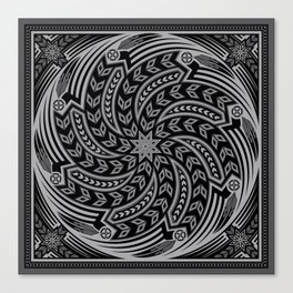 Wind Spirit (Gray) Canvas Print