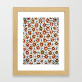 Tile Pattern #2 Framed Art Print