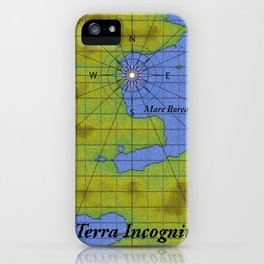 Terra Incognita iPhone Case