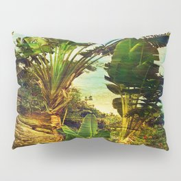 Traveller's Palm On Pic Pardis in Saint Martin Pillow Sham