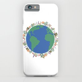Earth Wonders iPhone Case