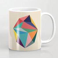 rock Mugs featuring Rock by Picomodi