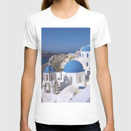 Oia Village in Santorini T-shirt