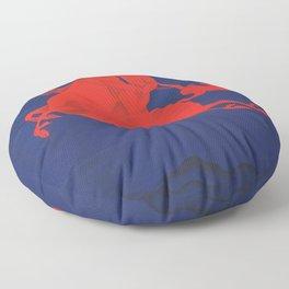 October calling by Chuluun Ch Floor Pillow